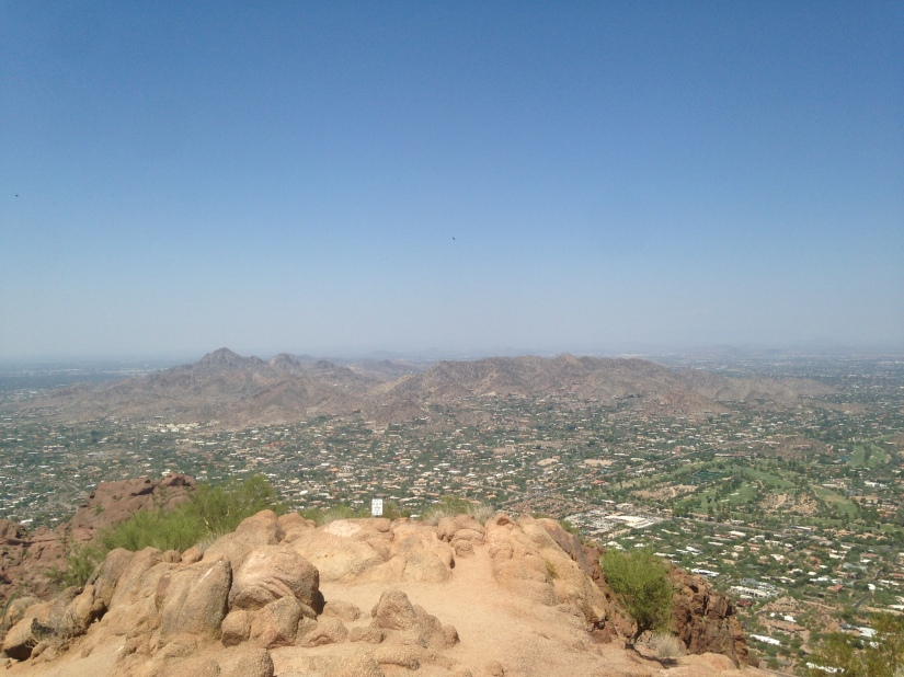 Echo Canyon Trail Camelback Mountain Phoenix AZ