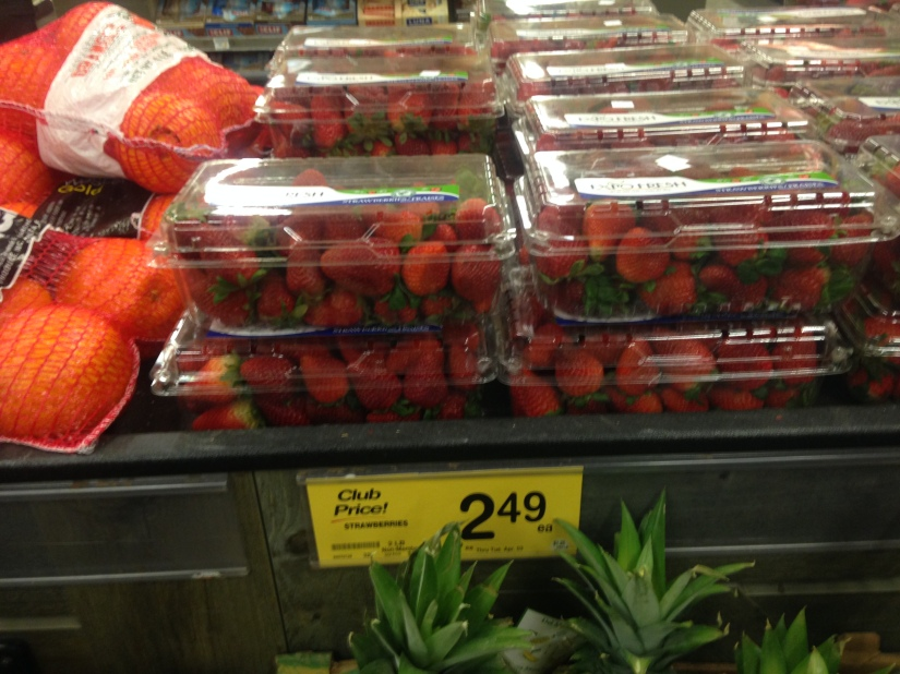 Lakeview strawberries grocery store