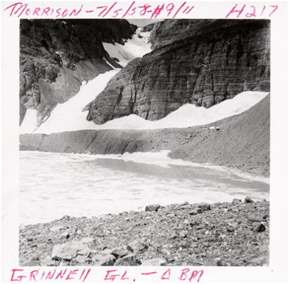Grinnell Glacier 1958